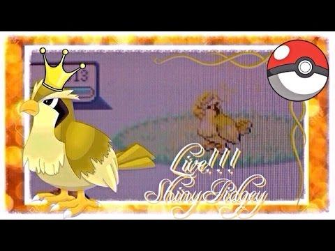 LIVE!!! Shiny Pidgey 2,381 RE's (Pokemon Fire Red)