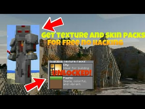 MCPE 0.15.0 Get Texture and Skin Packs For Free!!