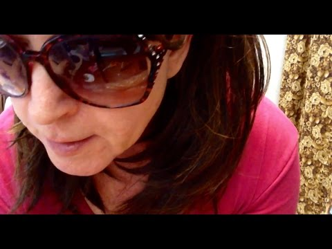 What do you do with your inexpensive, old, dilapidated sunglasses? (Whispering & Eating Video)