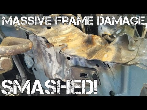 $200 Toyota Camry with MASSIVE FRAME DAMAGE! Would you Buy?