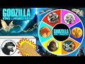 GODZILLA KING OF THE MONSTERS Spinning Wheel Slime Game W NEW GODZILLA MOVIE TOYS