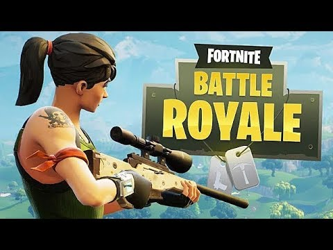 Fortnite Battle Royale Fun! (My first time on PC Fortnite)
