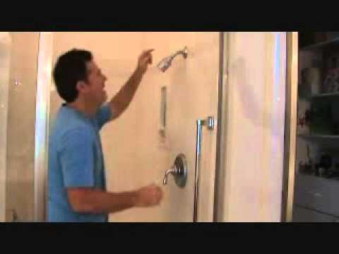 How to install a handheld shower head...Part 1