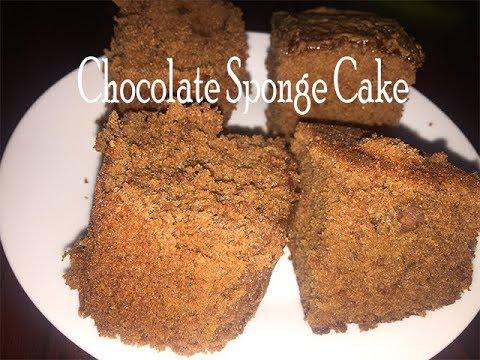 How To Make Soft Chocolate Sponge Cake| Fluffy Chocolate Cake