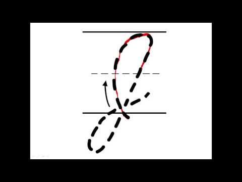 Cursive Capital J