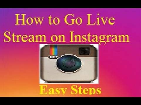 How to Go Live Stream on Instagram in android easy steps