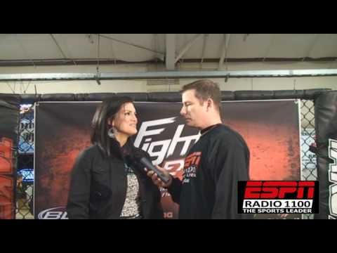 GINA CARANO ON DATING AND THE WORM w/COFIELD from CageWriter.com and ESPNRadio1100