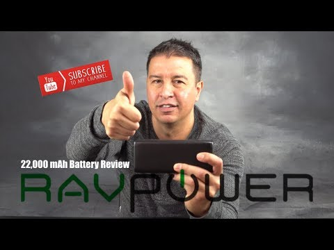 RavPower Quick charge portable power bank review
