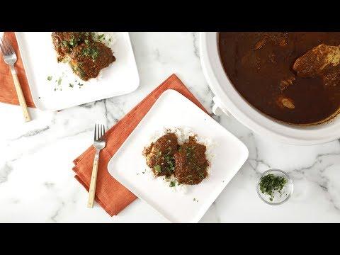 Slow-Cooker Chicken Mole- Martha Stewart