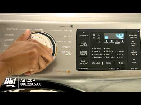 Samsung Front Load Dryer DV42H5200 Overview