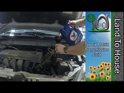 Toyota Matrix Transmission Fluid Change