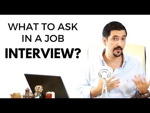 What Questions To Ask In A Job Interview? ✓