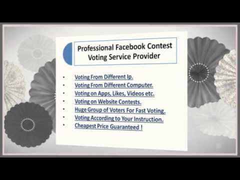 Need Facebook Votes To Win A Contest ?