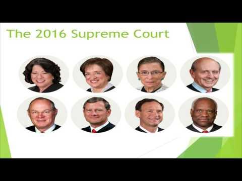 A Supreme Court Primer -  2016