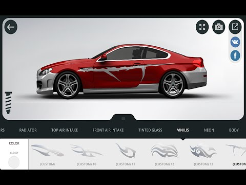 HOW TO MAKE CUSTOM CAR RENDERS | UNLIMITED POSSIBILITIES | 3D Tuning App Review