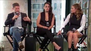 Download Matt Lauria, Byron Balasco, Frank Grillo, Kiele Sanchez, & Natalie Martinez On ″Kingdom″ | AOL BUILD Video