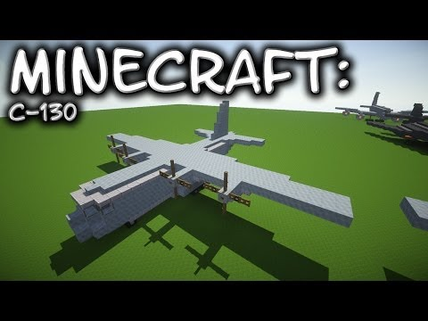 Minecraft: C-130 Hercules Tutorial