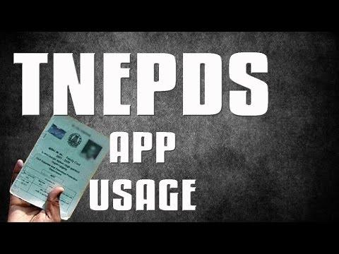 TNEPDS | AADHAR CARD UPDATE IN RATION CARD  USING TNEPDS | TNEPDS ONLINE APP
