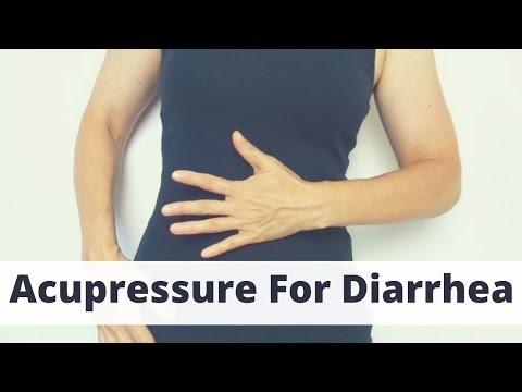 Acupressure Points for Diarrhea - Massage Monday #303