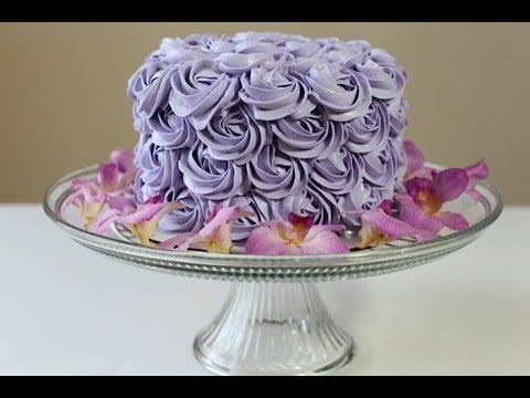 Rosette Cake(Rose Cake)Tutorial