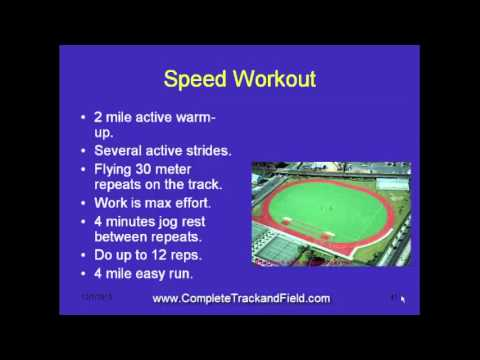 How to Develop Speed in Distance Runners
