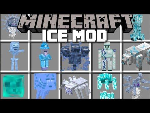 Minecraft ICE MOBS MOD / SURVIVE THE FROZEN LANDS WITH DANGEROUS MOBS!! Minecraft