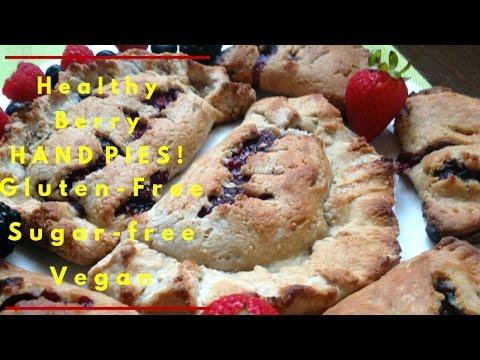 Healthy Berry Hand Pies | Vegan, Sugar Free + Gluten Free