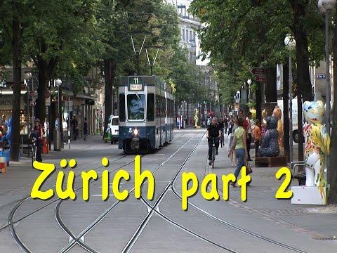 Zurich, Switzerland part 2: Bahnhofstrasse, trams, museums, Zug