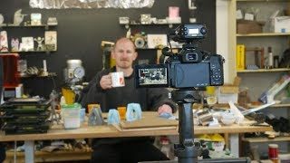 Behind the scenes at Applied Science: Why video? Camera gear. Shop tour.