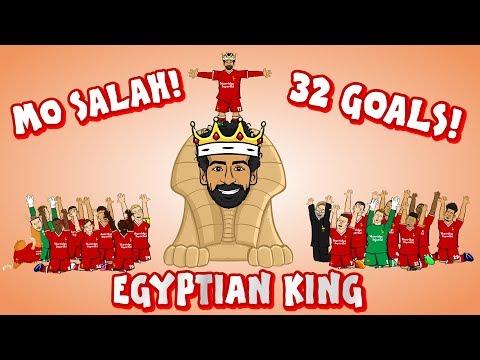 👑MO SALAH - EGYPTIAN KING👑 (All 32 Goals Mohamed Salah song)