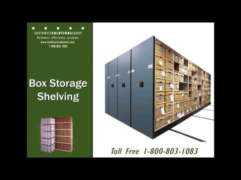 HIPAA Compliant Medical Records Chart Space-Saving Storage Shelving
