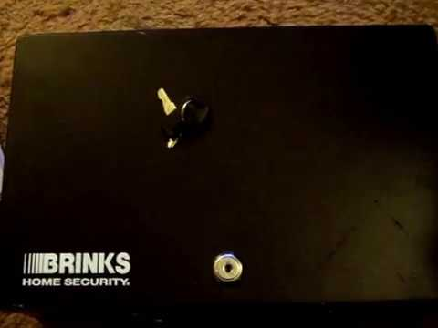 Brinks Home Security Lock Box - Hairpin Picked