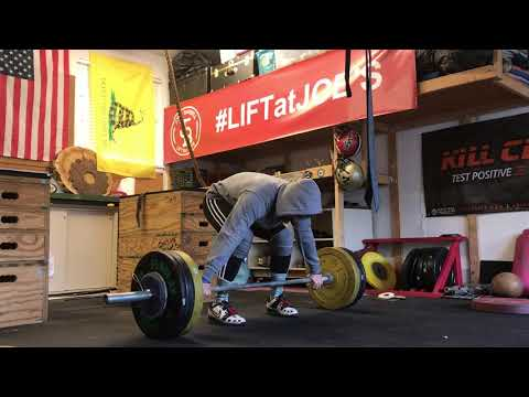 Snatch Pull + Pause with minor eccentric phases