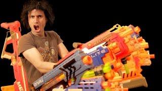 Baddest NERF Loadout | Gun Vs Gun Arsenal
