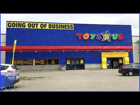 Toys R Us Closing Sale! | Follow Me Around To See The Clearance Prices At My Store