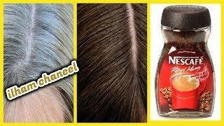 #x202b;بملعقة قهوة تخلصي من الشيب حتى لو شعرك كله ابيض ومن الاستعمال الاول فقط / علاج شيب نهائيا#x202c;lrm;