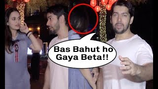 Varun Dhawan Brother Rohit Dhawan Gets Angry On Cameraman For Clicking His Girlfriend Picture