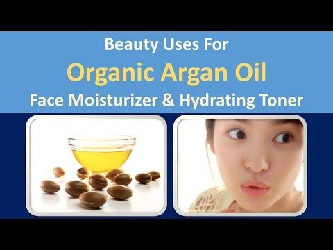 Beauty Uses for Organic Argan Oil | Face moisturizer & Hydrating toner