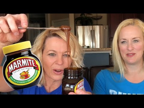 Tasting Marmite For The First Time
