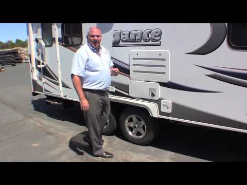 Lance Camper:  Towing Your Trailer