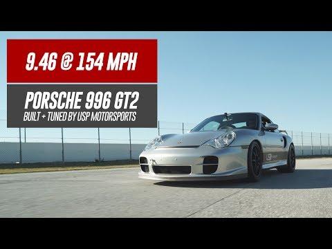 9.46 @ 154MPH // USP Porsche 996 GT2