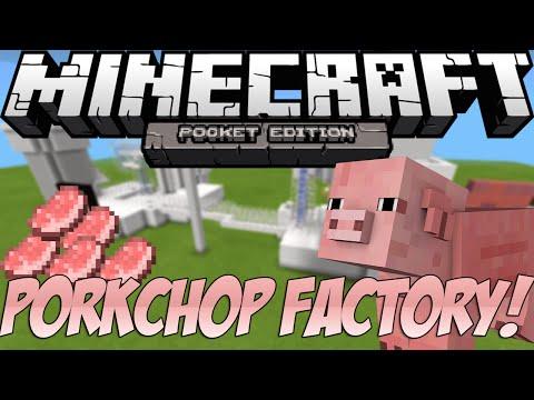 PORKCHOP FACTORY! - Minecraft: Pocket Edition