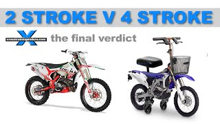 2-Stroke vs 4-Stroke Motorized Bicycle (GoPro) - PakVim net