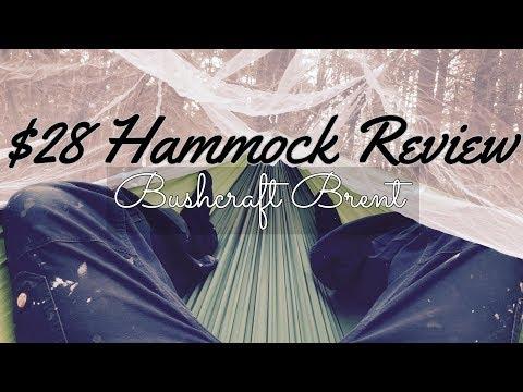 $28 Hammock Review | Bushcraft Brent