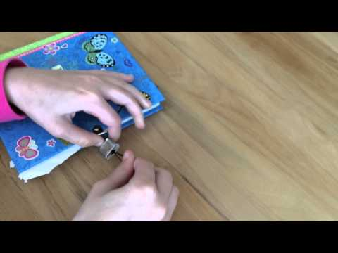How to pick a diary lock