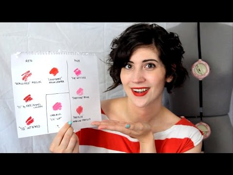 HOW TO MATCH YOUR LIPSTICK TO YOUR OUTFIT