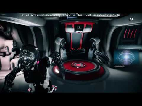 Warframe - how to change ship colours & get rid of the thing on your neck