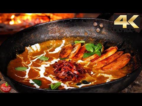 Best Squash & Bacon Soup! - 4K Primitive Cooking