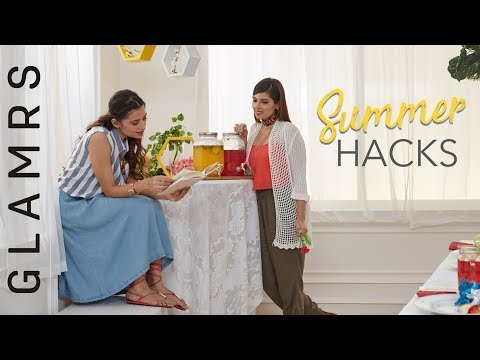 Summer Fashion - Tips and Tricks | 2017 Fashion Trends | HOT Weather Style Hacks From Glamrs.com