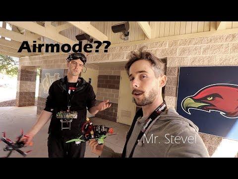 Idle up (throttle cut) VS Airmode blind test!